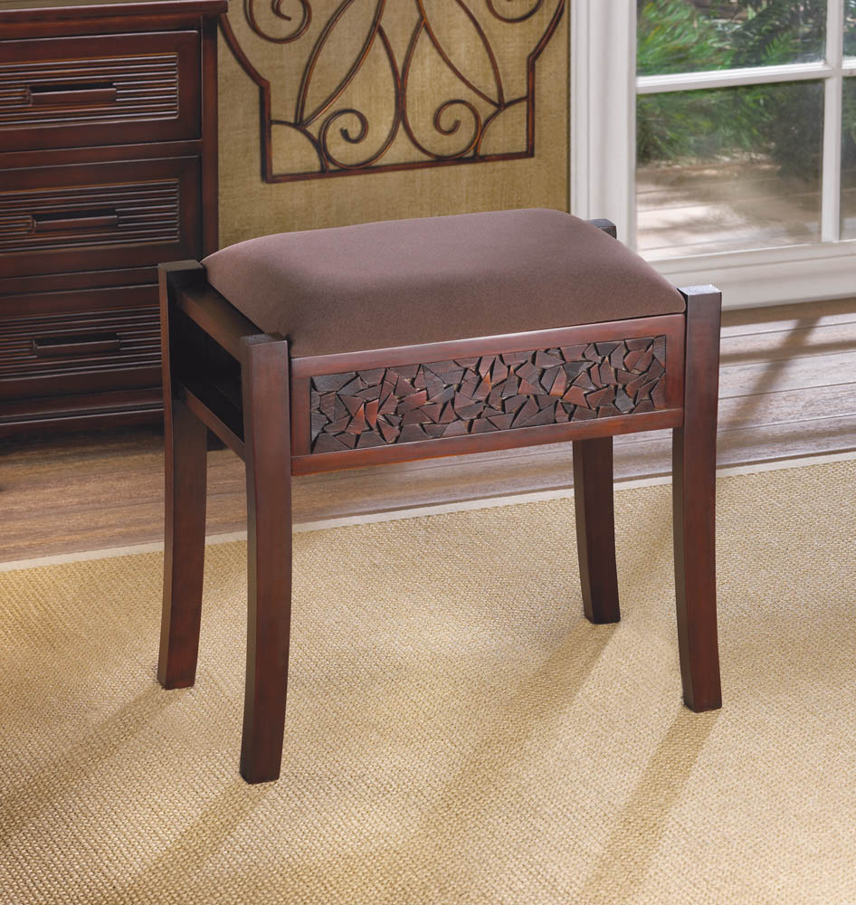 Regent Carved Foot Stool
