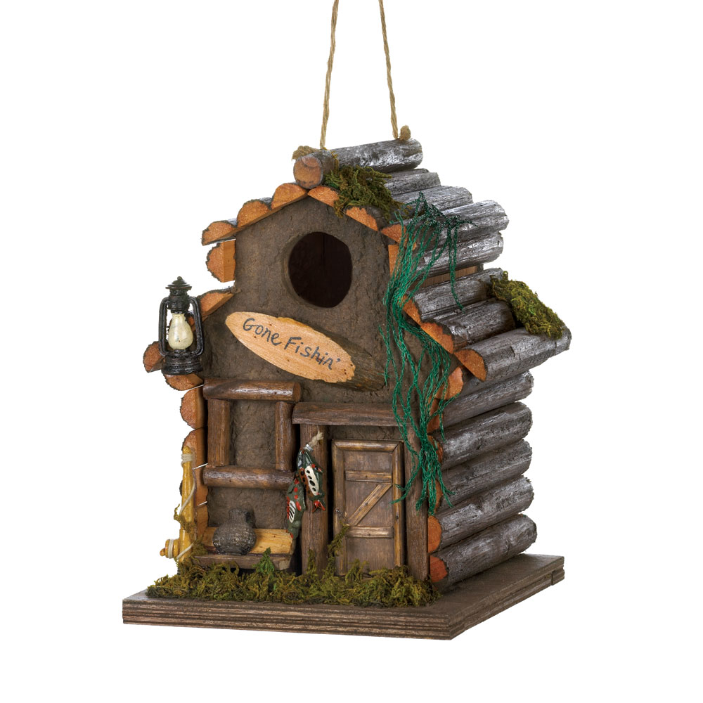 Fishing Cabn Birdhouse
