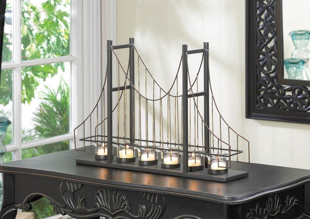 Ggolden Gate Candleholder