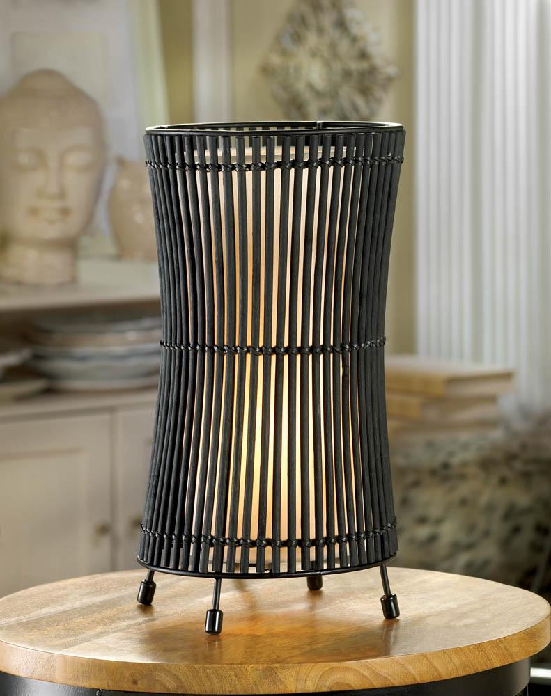 Metal Slat Concave Lamp