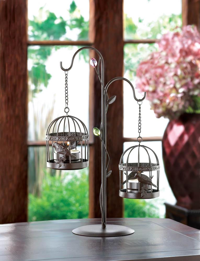 Birdgage Duo Candleholder