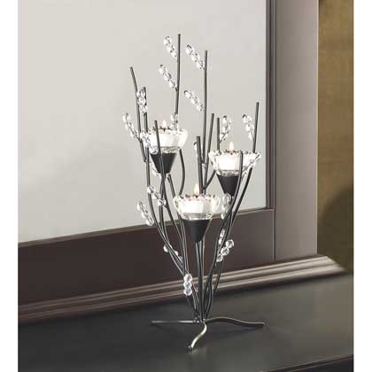 Crystal Tree Tealight Holder