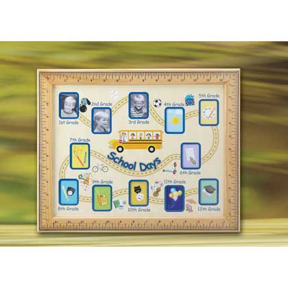 School Days Photo Frame