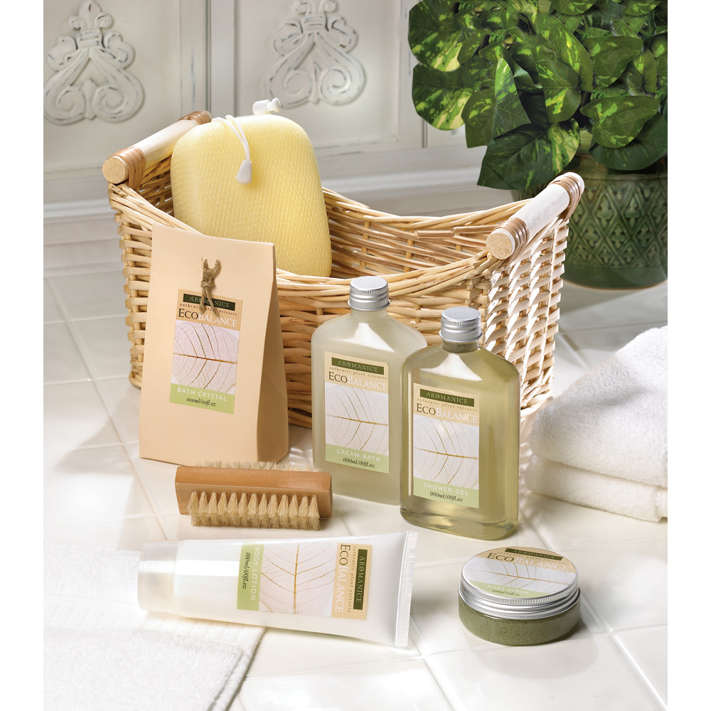 Lemongrass Eucalyptus SPA Basket