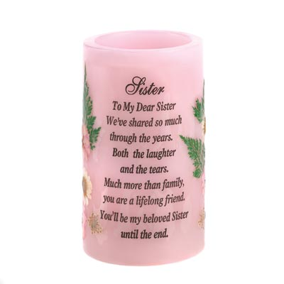 Sister Heartnotes Candle