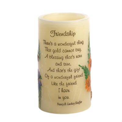 Friendship Heartnotes Candle