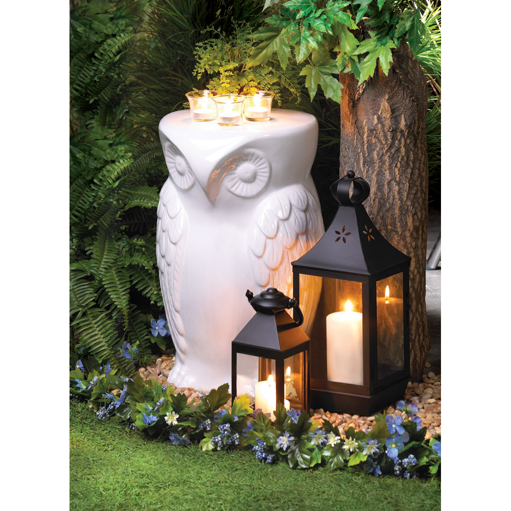 Wise Owl Decorative Stool