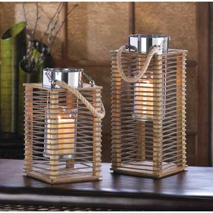 Hudson Tall Candle Lantern