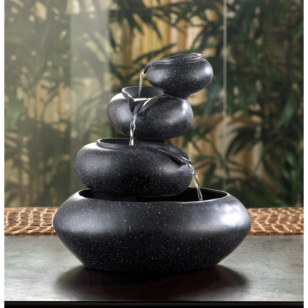 Four-Tier Tabletop Fountain