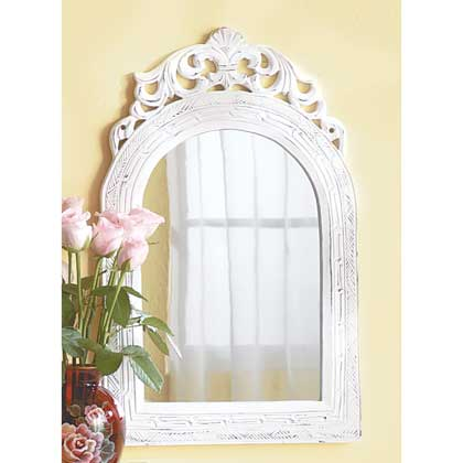 Arched-Top Wall Mirror