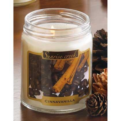 Cinnavanilla Scent Candle