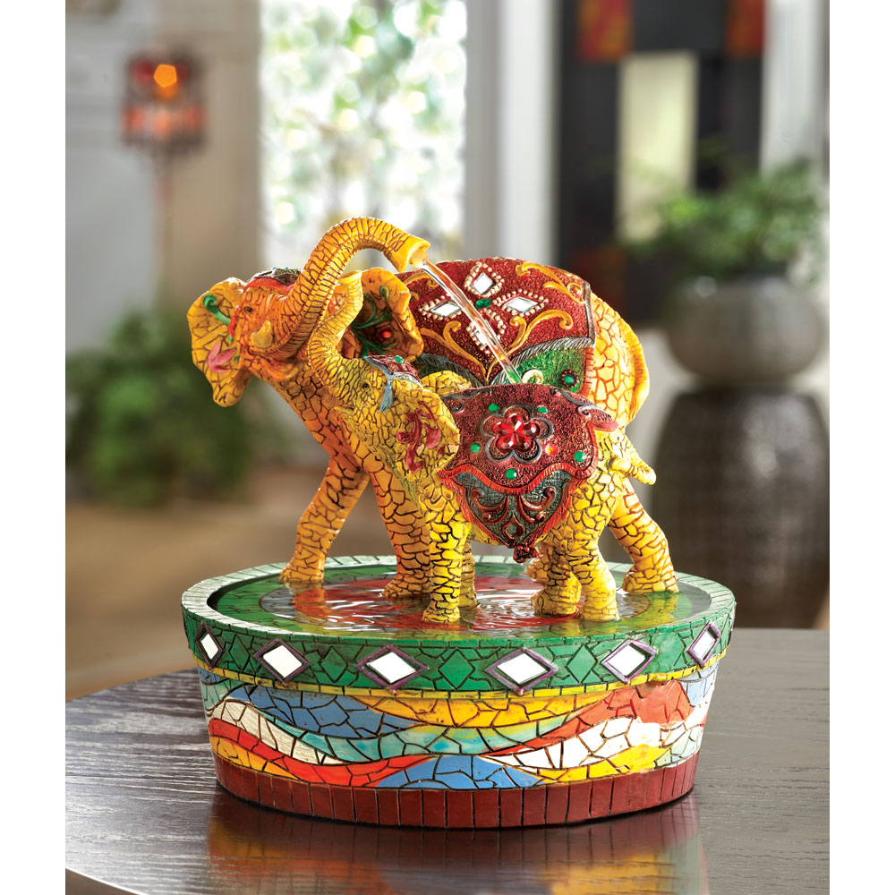 Joyful Elephant Fountain
